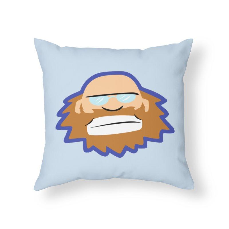 Jerry Home Throw Pillow by P. Calavara's Artist Shop