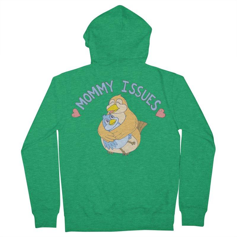 Mommy Issues (cute) Men's Zip-Up Hoody by P. Calavara's Artist Shop