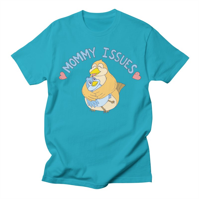 Mommy Issues (cute) Men's T-Shirt by P. Calavara's Artist Shop