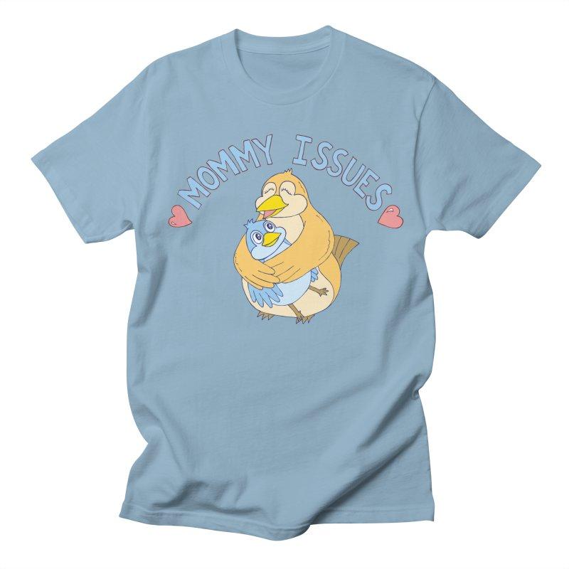 Mommy Issues (cute) Women's Regular Unisex T-Shirt by P. Calavara's Artist Shop