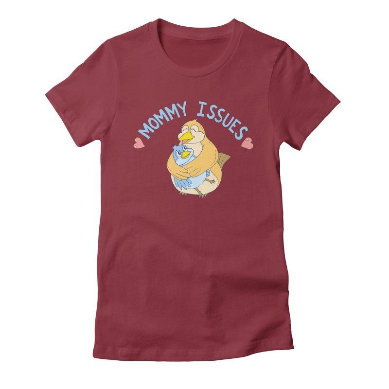 Mommy Issues (cute) Women's T-Shirt by P. Calavara's Artist Shop