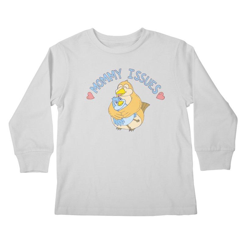 Mommy Issues (cute) Kids Longsleeve T-Shirt by P. Calavara's Artist Shop