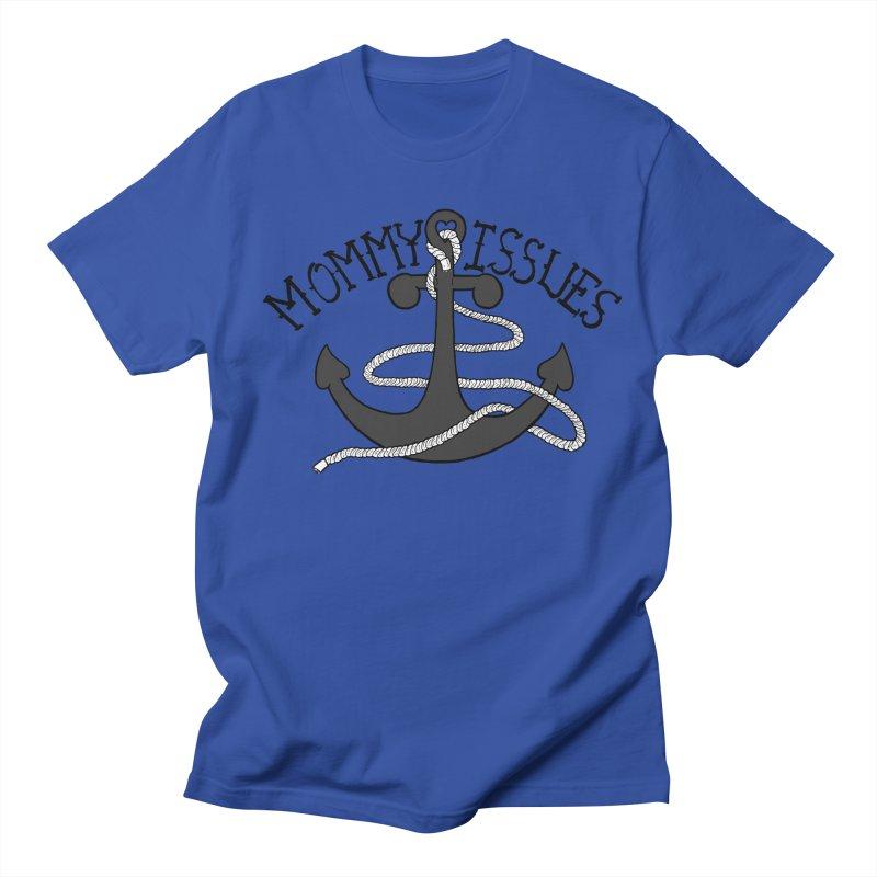 Mommy Issues (tough) Men's Regular T-Shirt by P. Calavara's Artist Shop