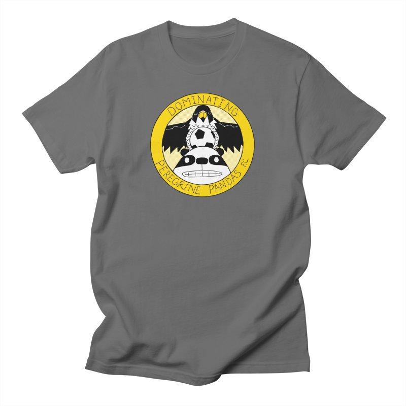 Dominating Peregrine Pandas FC Men's T-Shirt by P. Calavara's Artist Shop