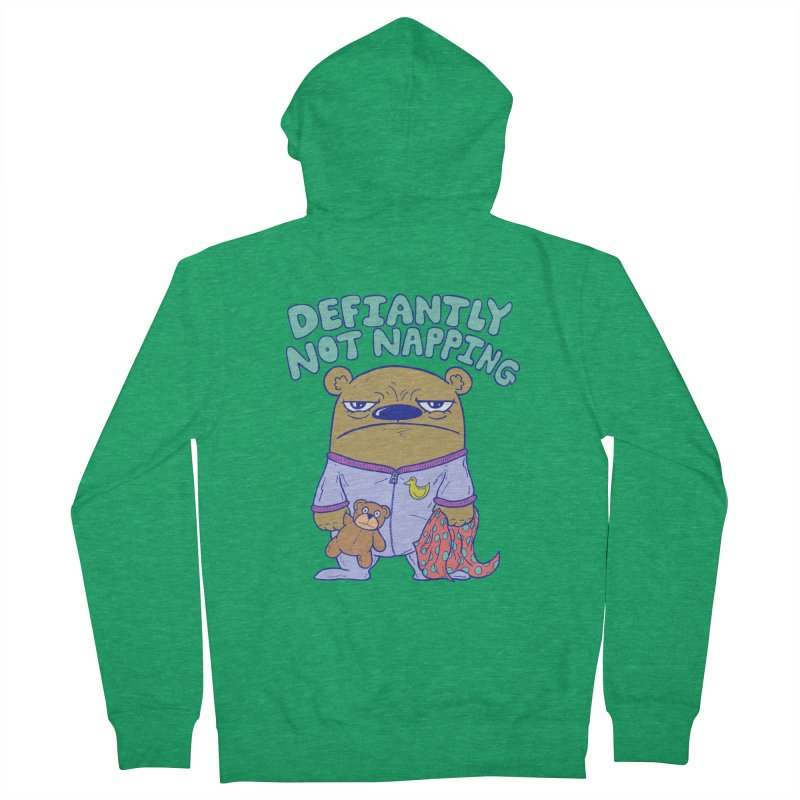 Defiantly Not Napping Women's Zip-Up Hoody by P. Calavara's Artist Shop