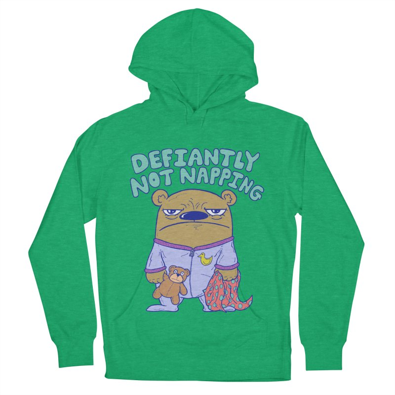 Defiantly Not Napping Men's Pullover Hoody by P. Calavara's Artist Shop