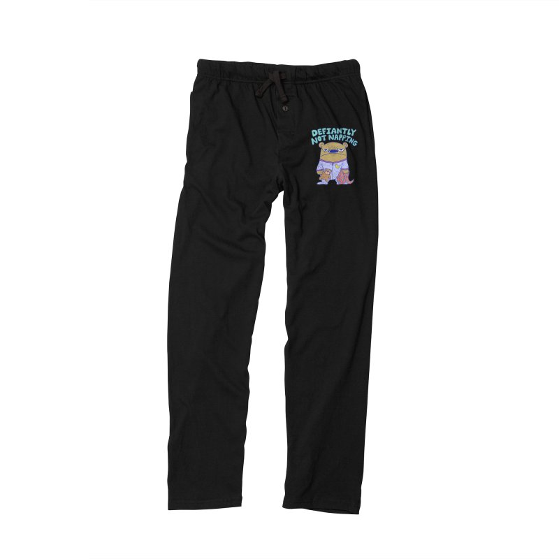 Defiantly Not Napping Women's Lounge Pants by P. Calavara's Artist Shop