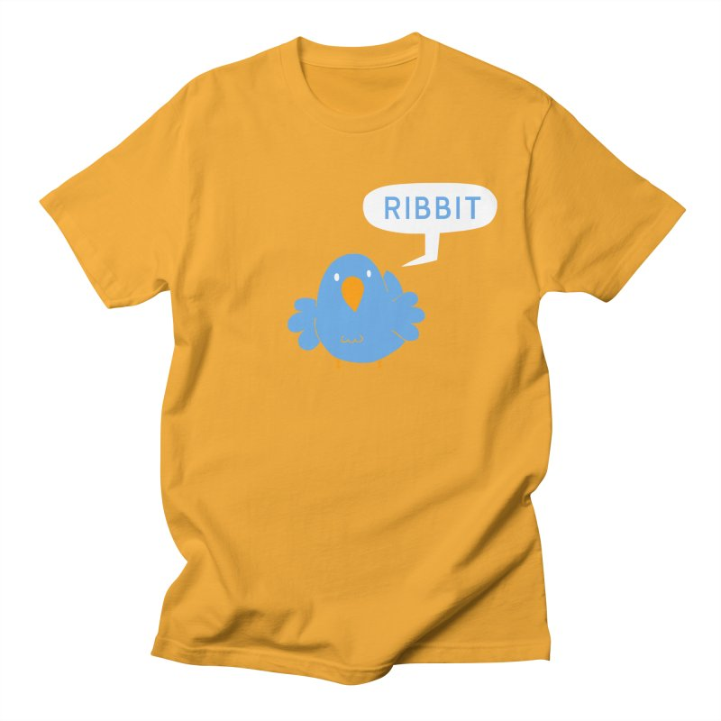 Ribbit Men's Regular T-Shirt by P. Calavara's Artist Shop