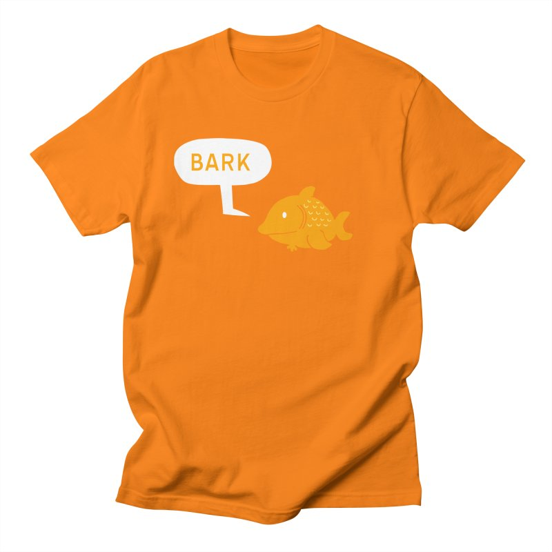 Bark Men's Regular T-Shirt by P. Calavara's Artist Shop