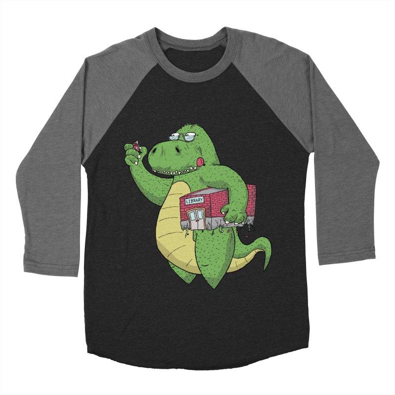 Support Your Local Library Women's Baseball Triblend Longsleeve T-Shirt by P. Calavara's Artist Shop