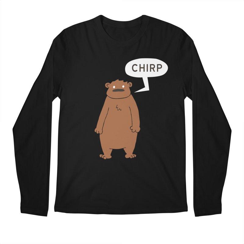 Chirp Men's Regular Longsleeve T-Shirt by P. Calavara's Artist Shop