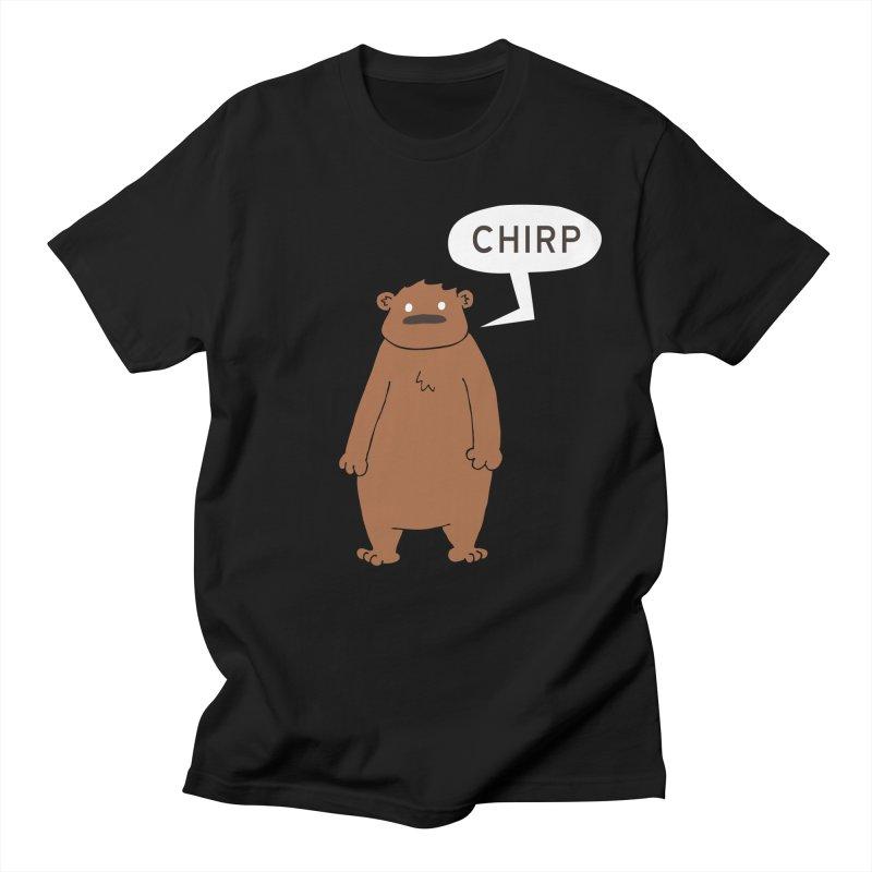 Chirp Men's Regular T-Shirt by P. Calavara's Artist Shop