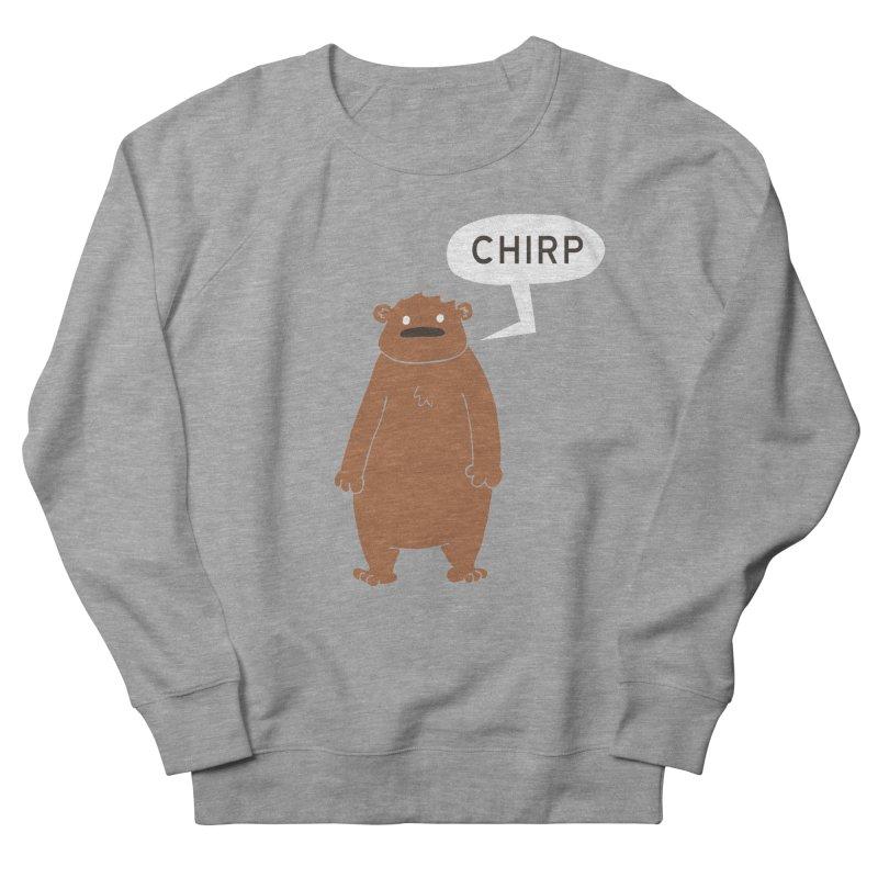 Chirp Men's French Terry Sweatshirt by P. Calavara's Artist Shop
