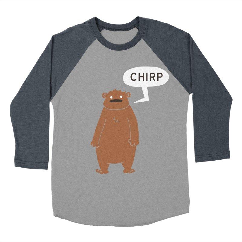 Chirp Women's Baseball Triblend Longsleeve T-Shirt by P. Calavara's Artist Shop