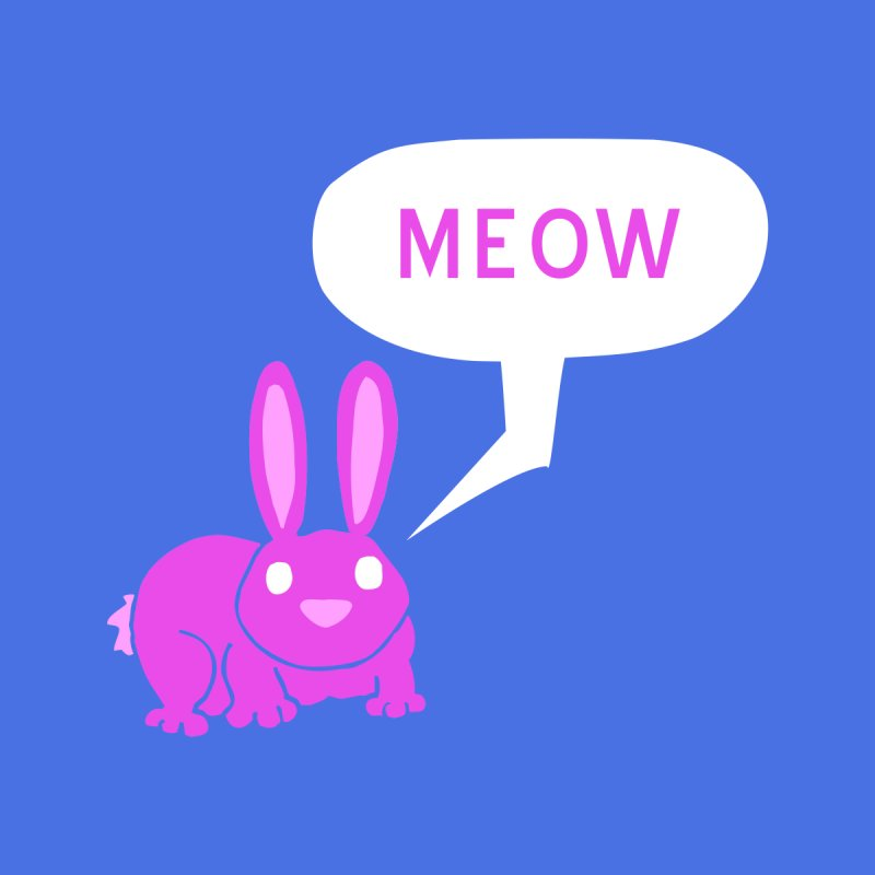 Meow by P. Calavara's Artist Shop