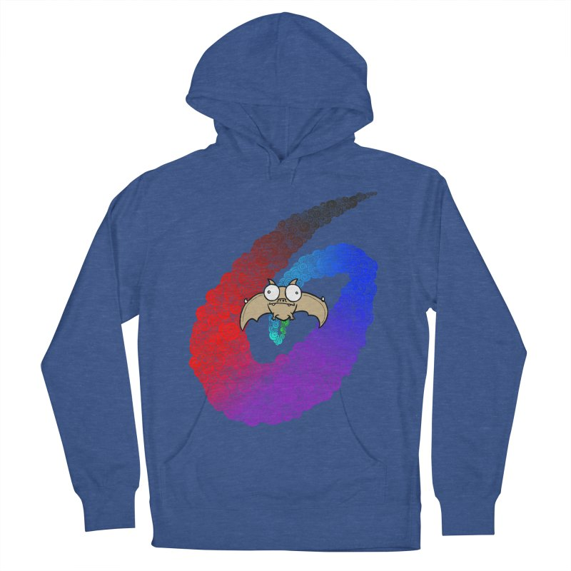 Bat Women's French Terry Pullover Hoody by P. Calavara's Artist Shop