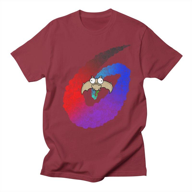 Bat Men's Regular T-Shirt by P. Calavara's Artist Shop