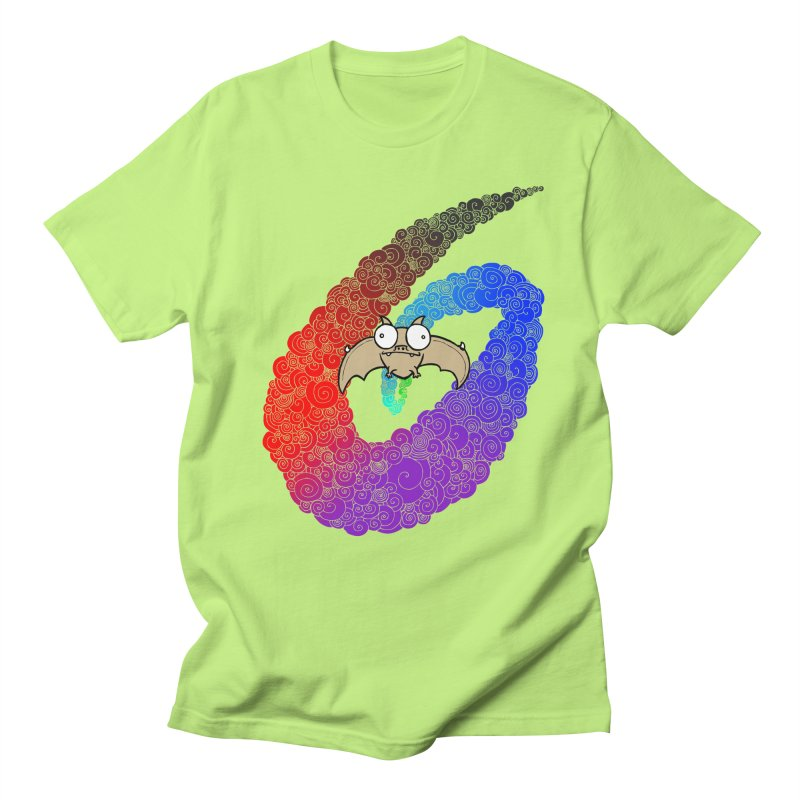 Bat Men's T-shirt by P. Calavara's Artist Shop