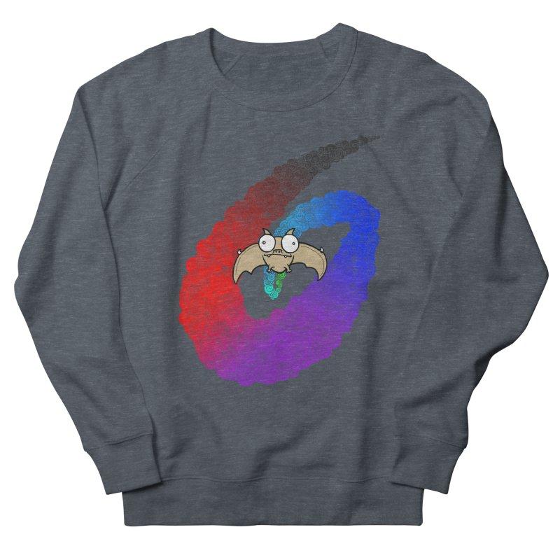 Bat Men's French Terry Sweatshirt by P. Calavara's Artist Shop
