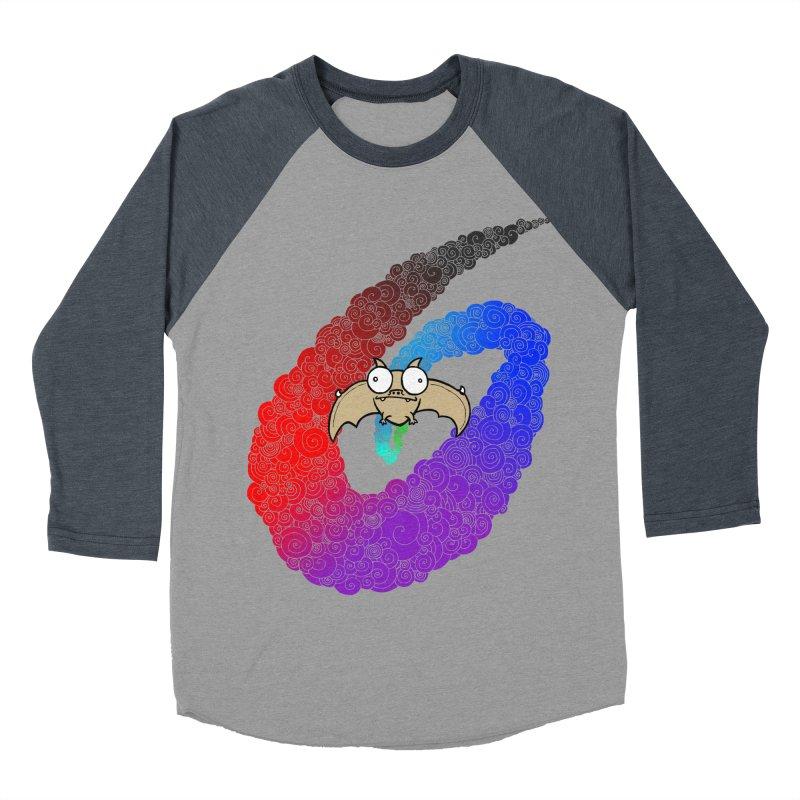 Bat Women's Baseball Triblend T-Shirt by P. Calavara's Artist Shop