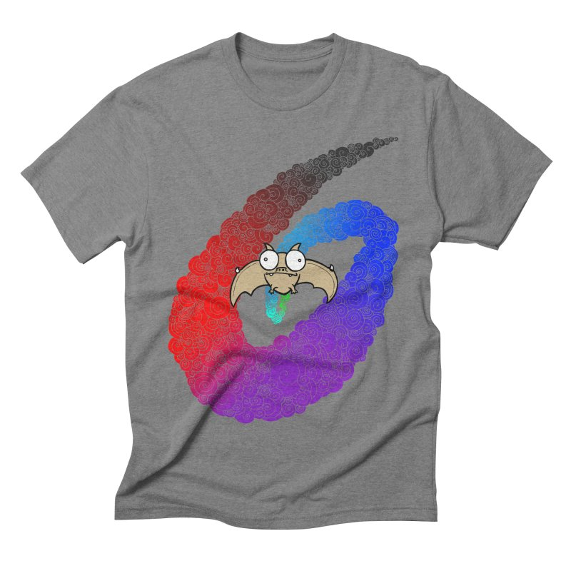 Bat Men's Triblend T-shirt by P. Calavara's Artist Shop