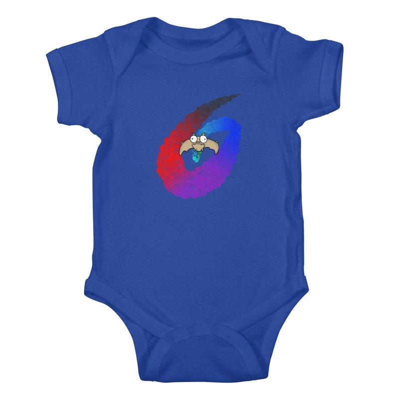 Bat Kids Baby Bodysuit by P. Calavara's Artist Shop