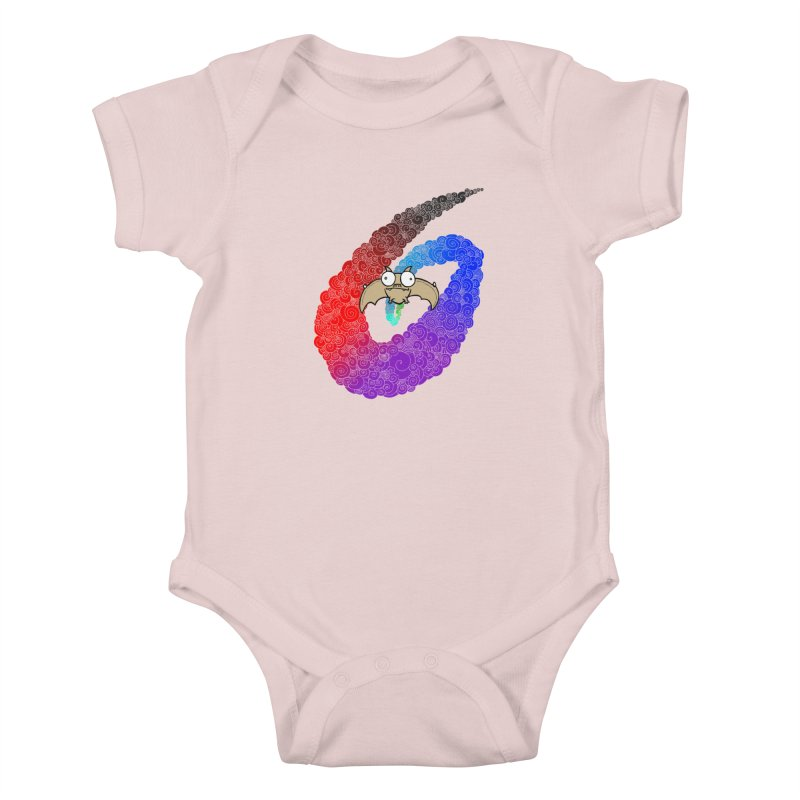 Bat Kids Baby Bodysuit by P. Calavara's Artist Shop