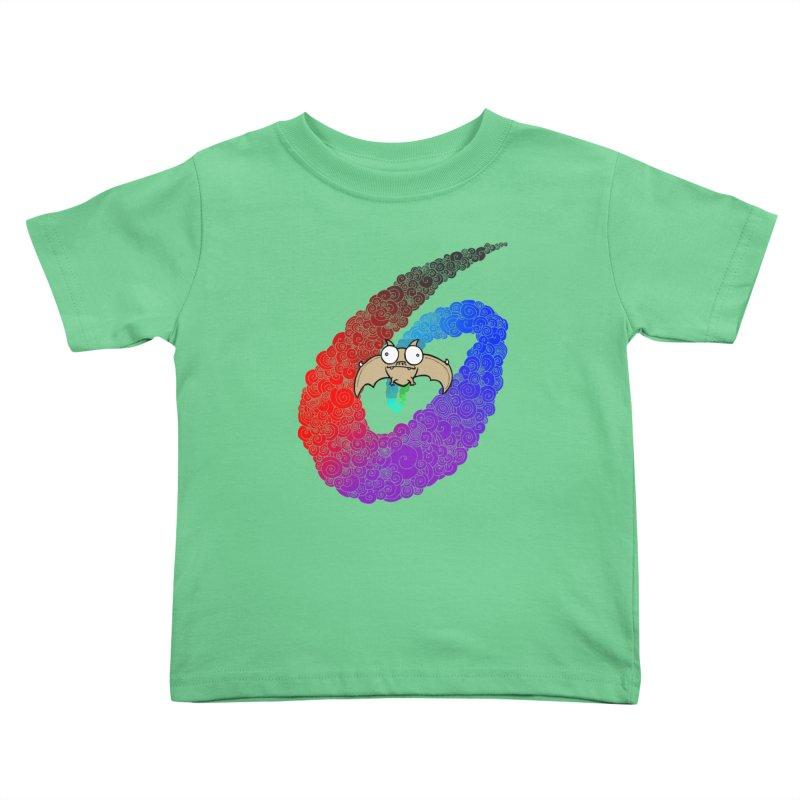 Bat Kids Toddler T-Shirt by P. Calavara's Artist Shop