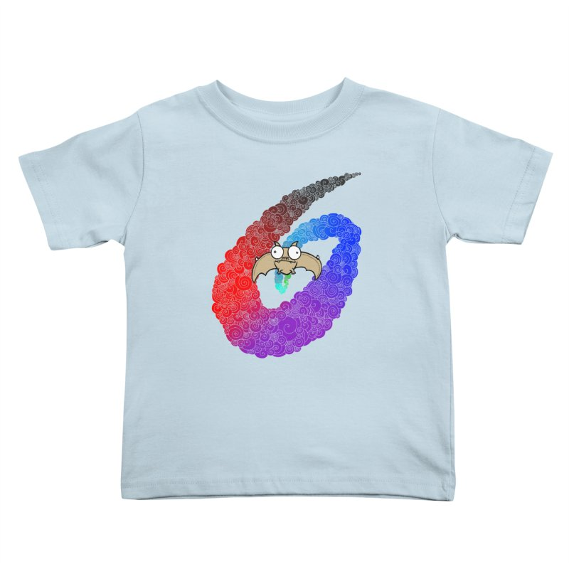 Bat Kids Toddler T-Shirt by P. Calavara's Artist Shop