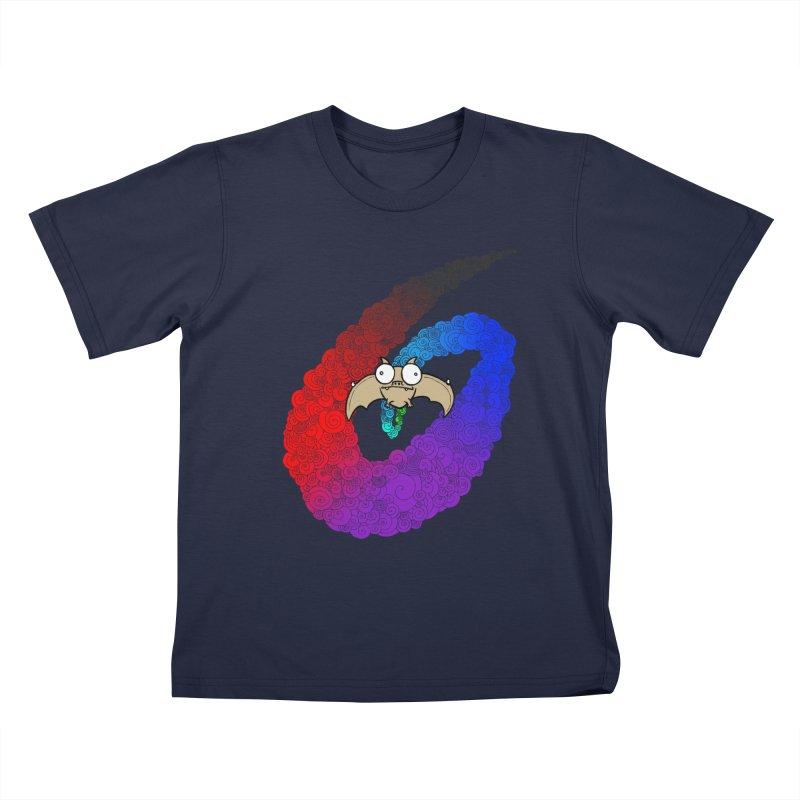 Bat Kids T-Shirt by P. Calavara's Artist Shop
