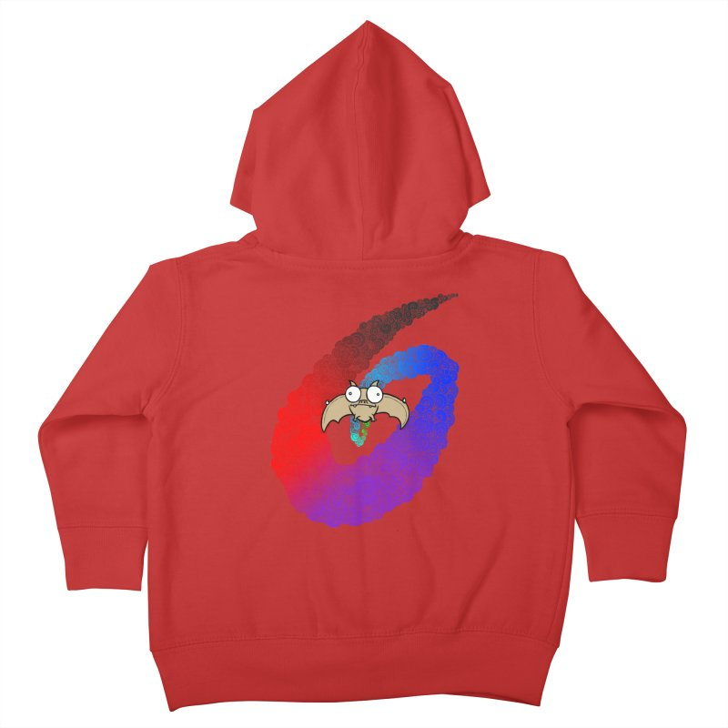 Bat Kids Toddler Zip-Up Hoody by P. Calavara's Artist Shop