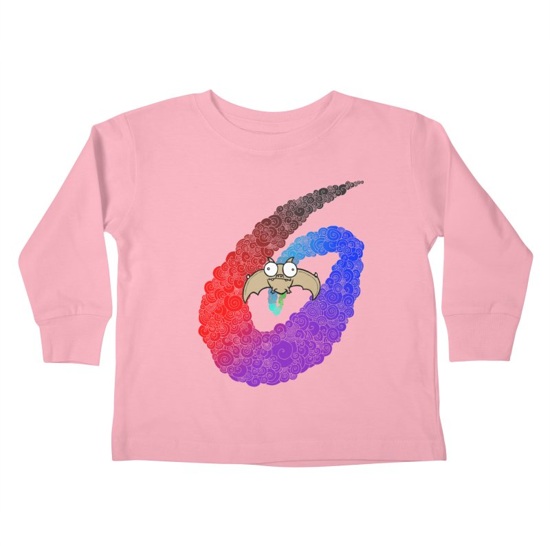 Bat Kids Toddler Longsleeve T-Shirt by P. Calavara's Artist Shop