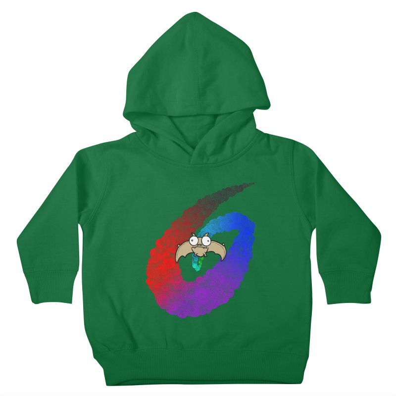 Bat Kids Toddler Pullover Hoody by P. Calavara's Artist Shop