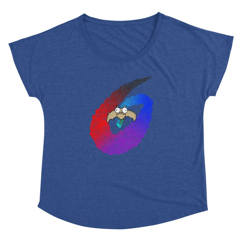 Bat Women's Dolman Scoop Neck by P. Calavara's Artist Shop