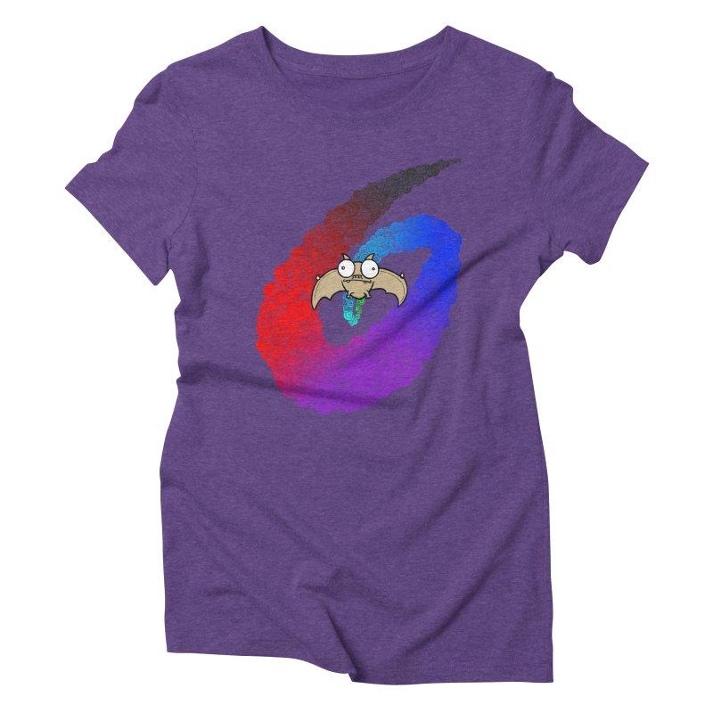Bat Women's Triblend T-Shirt by P. Calavara's Artist Shop