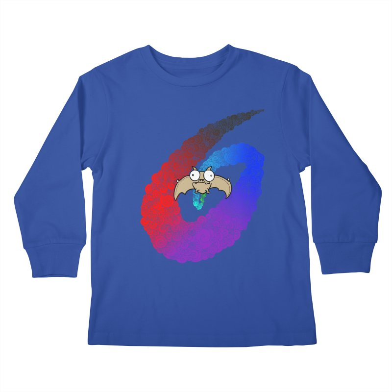 Bat Kids Longsleeve T-Shirt by P. Calavara's Artist Shop