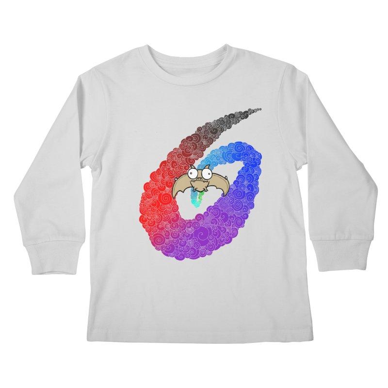 Bat Kids Longsleeve T-Shirt by P. Calavara's Artist Shop