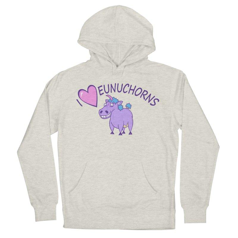 I (Heart) Eunuchorns Women's Pullover Hoody by P. Calavara's Artist Shop