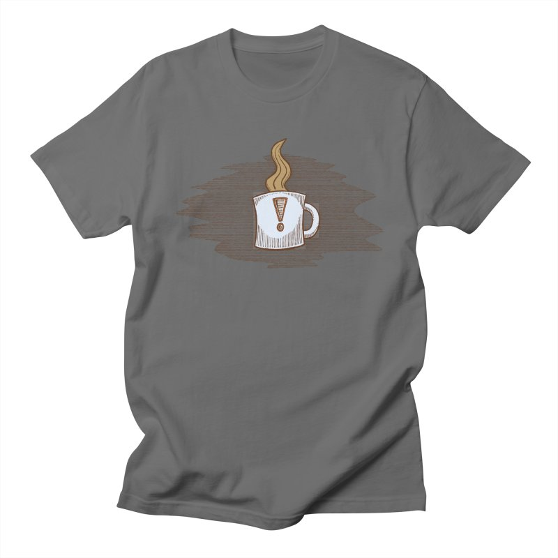 Coffee! Men's T-Shirt by P. Calavara's Artist Shop