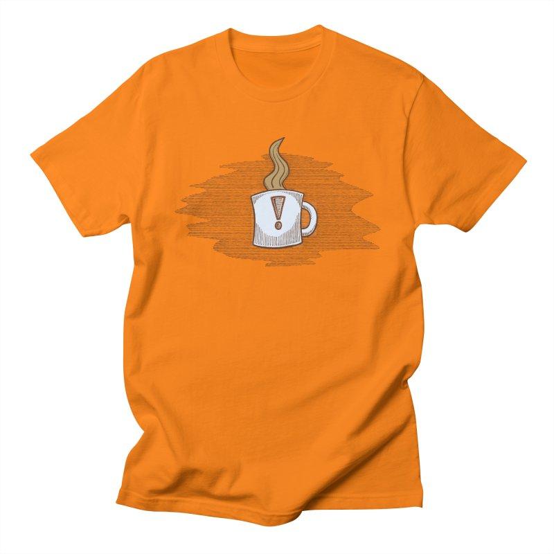 Coffee! Men's T-Shirt by P. Calavara's Artist Shop