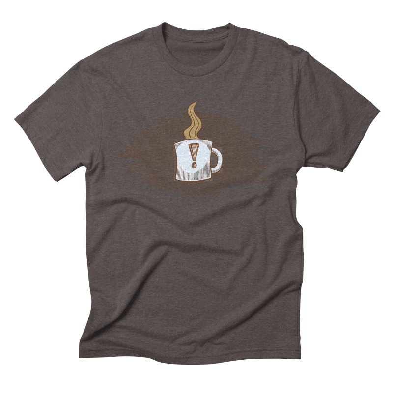 Coffee! Men's Triblend T-Shirt by P. Calavara's Artist Shop