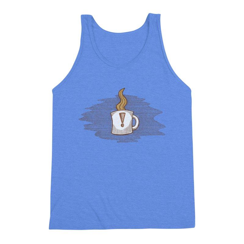 Coffee! Men's Triblend Tank by P. Calavara's Artist Shop