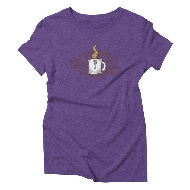 Coffee! Women's Triblend T-Shirt by P. Calavara's Artist Shop
