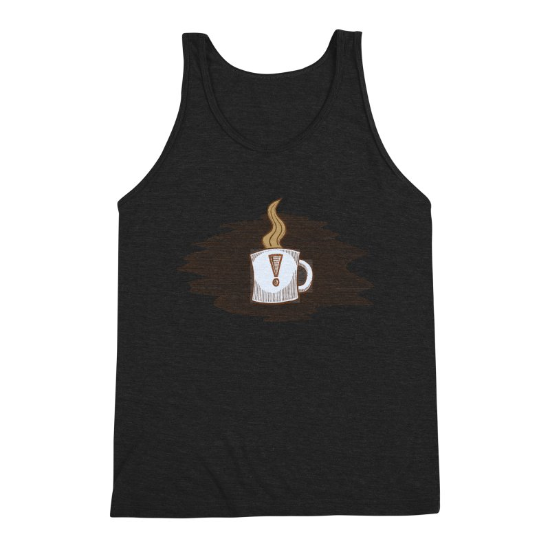 Coffee! Men's Triblend Tank by P. Calavara's Artist Shop