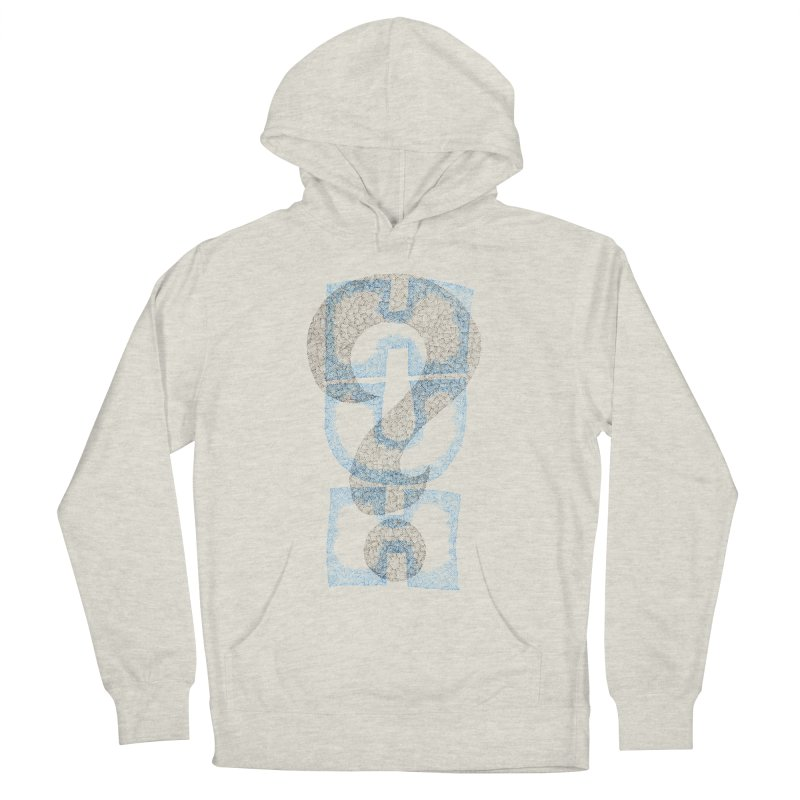 Huh? Women's French Terry Pullover Hoody by P. Calavara's Artist Shop