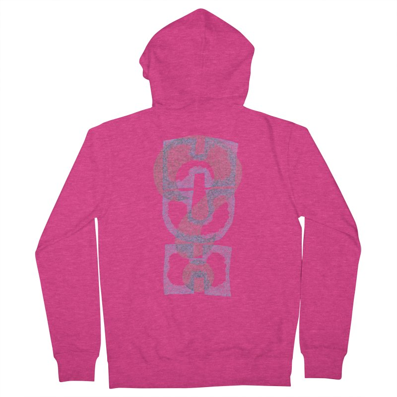 Huh? Women's French Terry Zip-Up Hoody by P. Calavara's Artist Shop