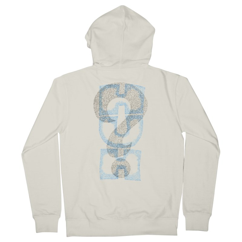 Huh? Women's Zip-Up Hoody by P. Calavara's Artist Shop