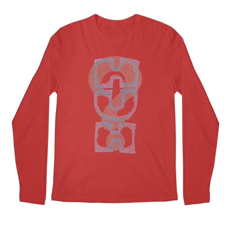 Huh? Men's Regular Longsleeve T-Shirt by P. Calavara's Artist Shop