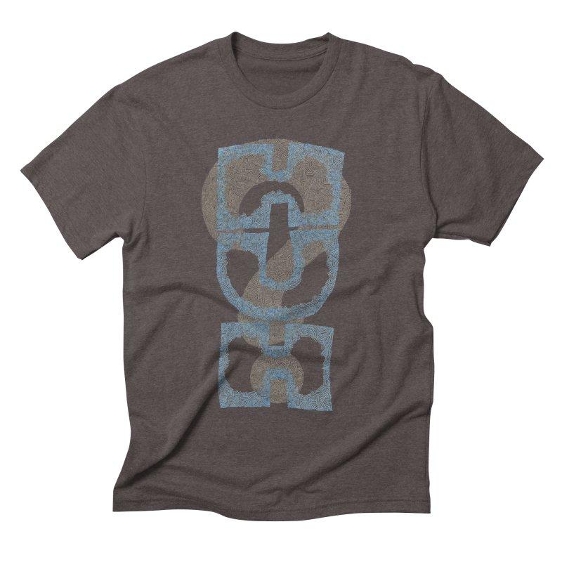 Huh? Men's Triblend T-shirt by P. Calavara's Artist Shop