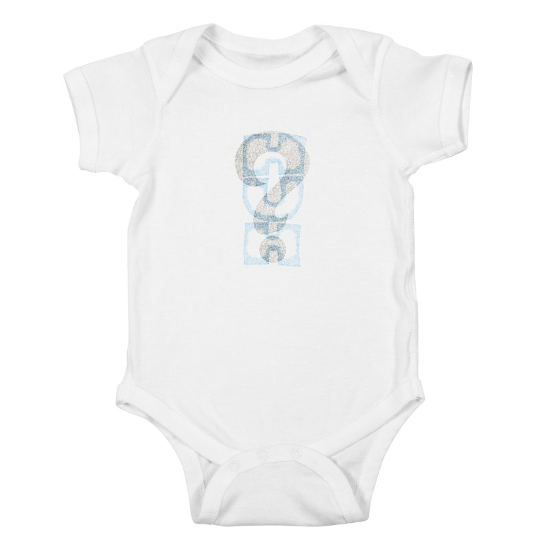 Huh? Kids Baby Bodysuit by P. Calavara's Artist Shop